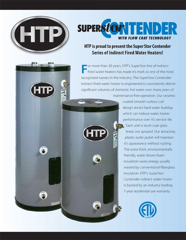 htp residential superstor contender indirect water heater hsc. Black Bedroom Furniture Sets. Home Design Ideas