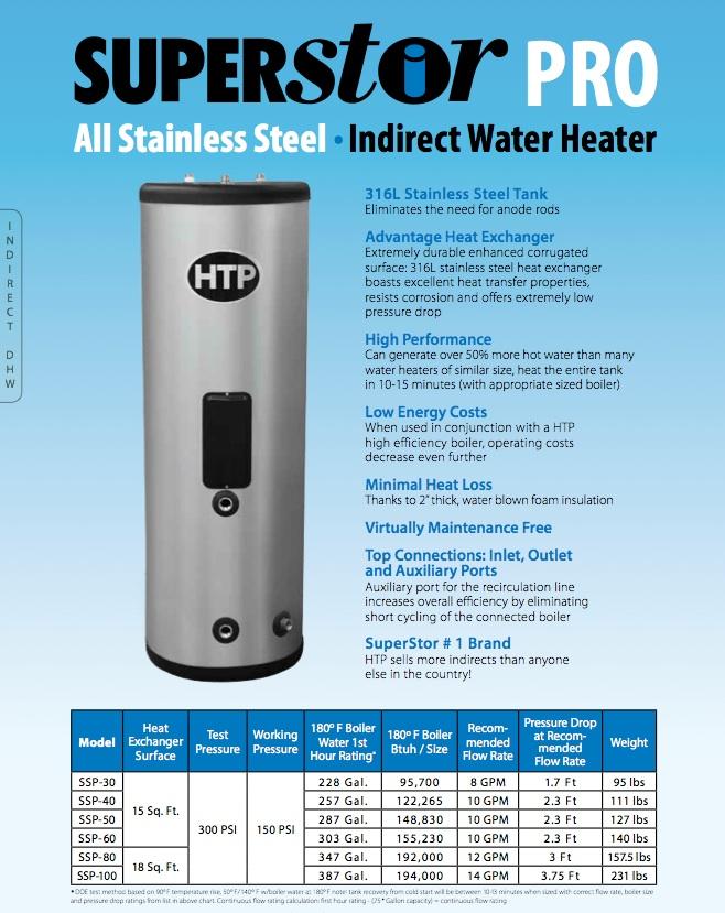 Htp Commercial Superstor Pro Hsc